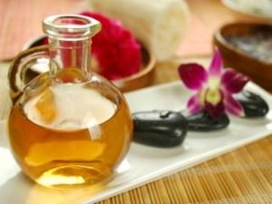 massage oil category