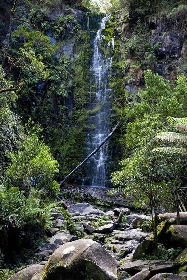 Wasserfall entlang der Great Ocean Road
