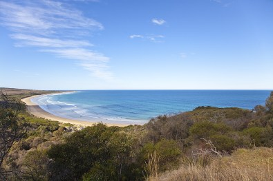 Beach in der Nähe von Torquay