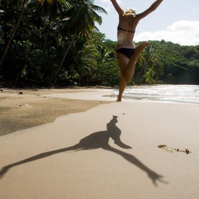 Kathi in der Karibik