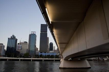 Die Skyline von Brisbane