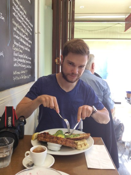 David im Restaurant