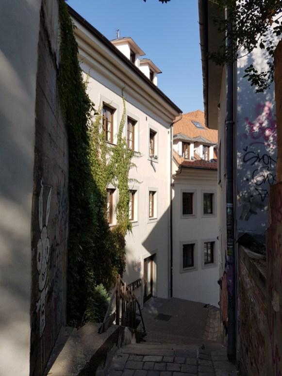 Gasse in Bratislava