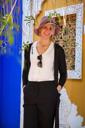 Katharina, Jardin Majorelle