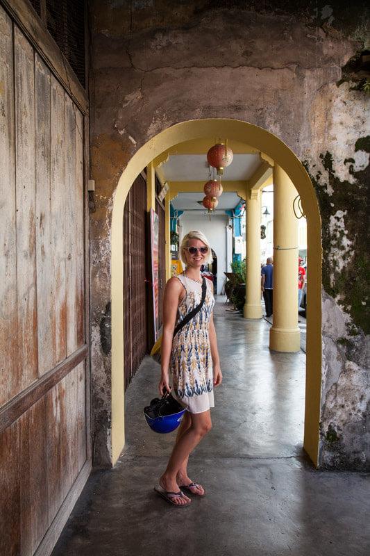 Katharina in Old Phuket