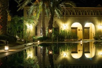 Ksar el Kabbaba bei Nacht