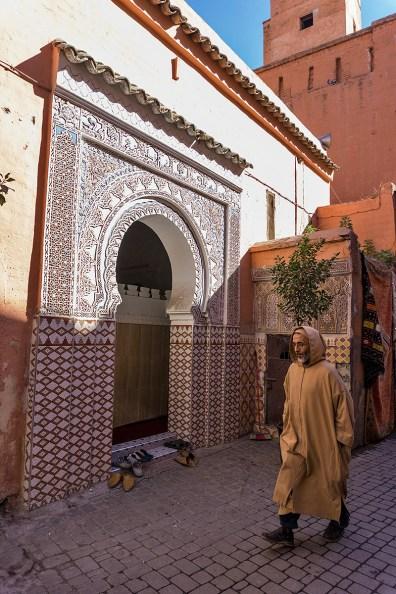 Moschee in der Marrakesch Medina