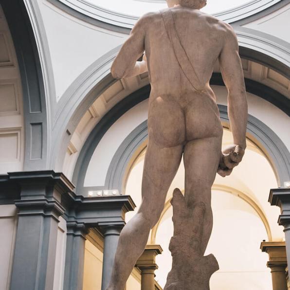 David Michelangelo - Rückansicht