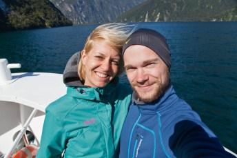 Milford Sound Selfie