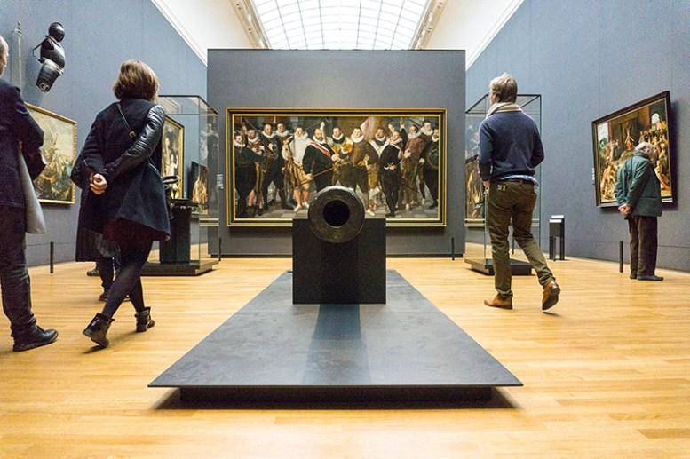 Kanone im Rijksmuseum