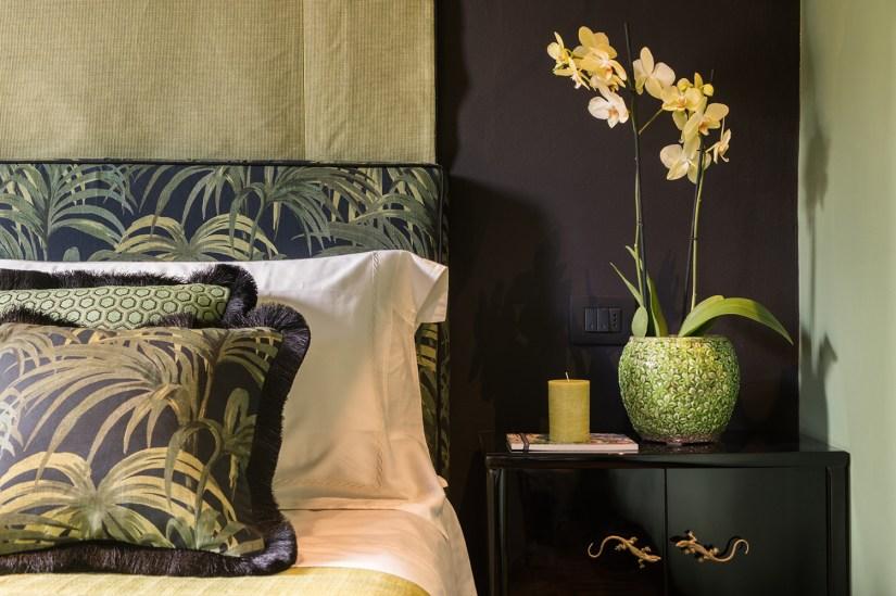 Bett in der Suite Livingstone