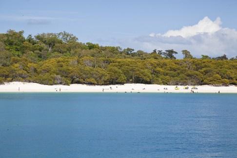 Whitehaven Beach bei Flut
