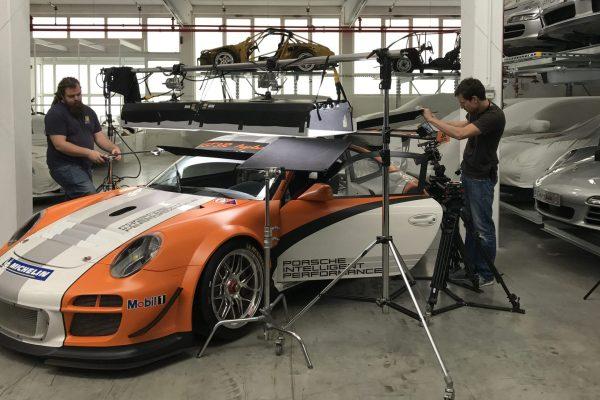 Film Porsche movie shooting