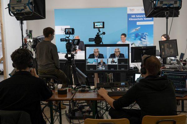 Press Conference Livestream Production Hamburg