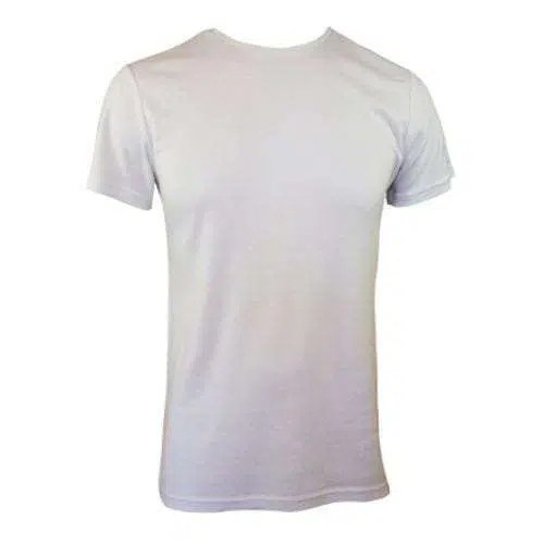 Bamboo Men's Tee Without Pocket - White