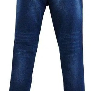 Distressed Denim Jeans -back