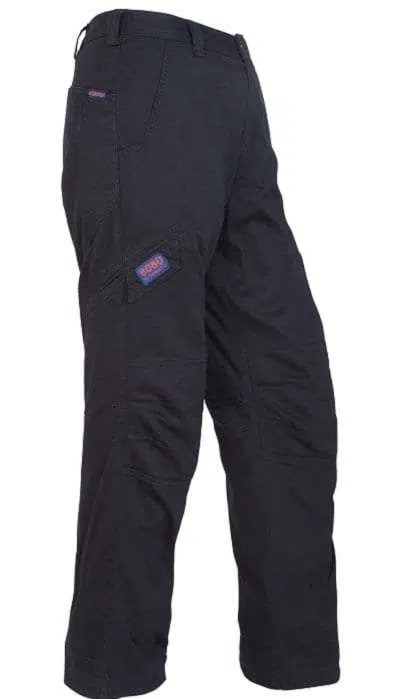 Ritemate Light Cargo Trousers - Black