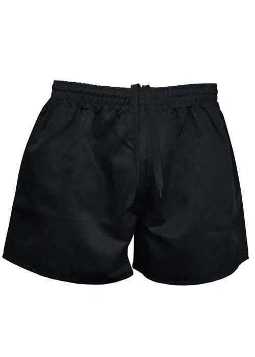 Footy Shorts Black