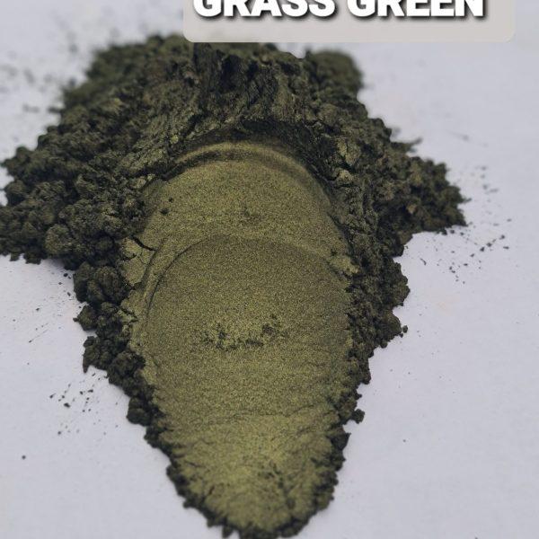 GRASS GREEN- Aussie Camphor - Mica Pigment Powder