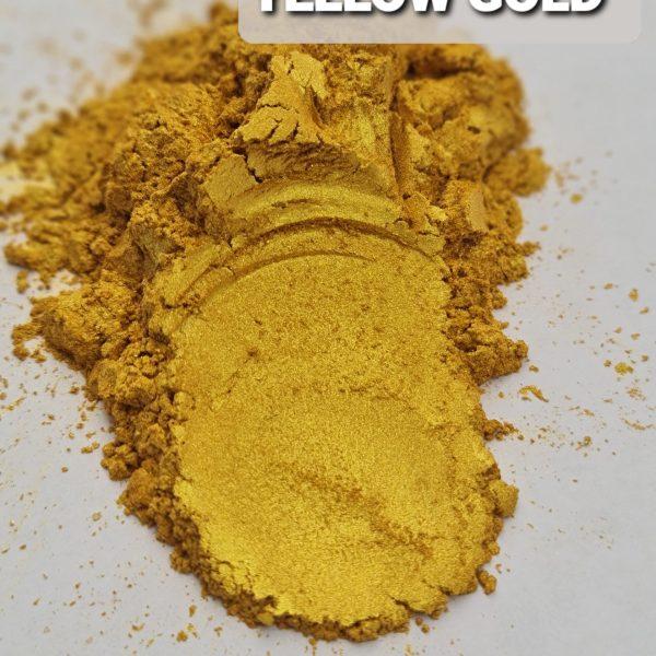 YELLOW GOLD- Aussie Camphor - Mica Pigment Powder