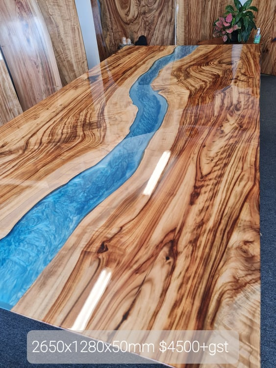 Timber Table Top, Table top, Aussie Camphor