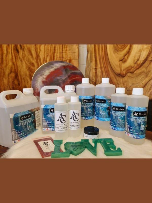 epoxy resin, AC COATING ART GLASS FINISH RESIN