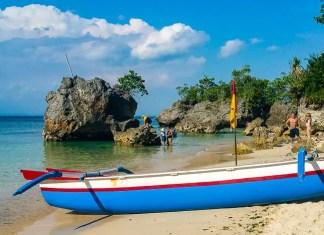 Padang Padang Beach in Bali