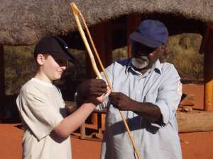 Spear throwing lessons