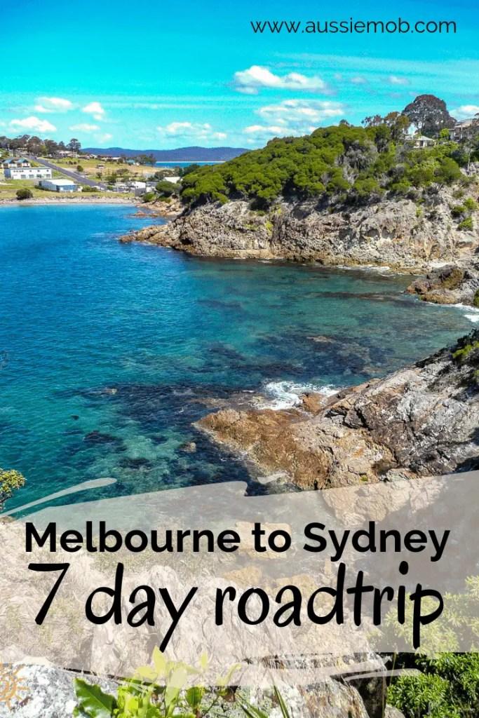 Melbourne to Sydney roadtrip