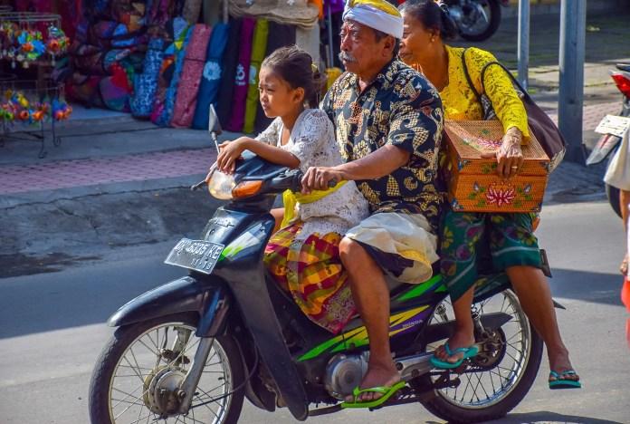 Crazy Bali Traffic