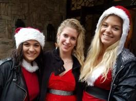 Beautiful SantaCon Santas