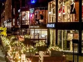Boston City lights