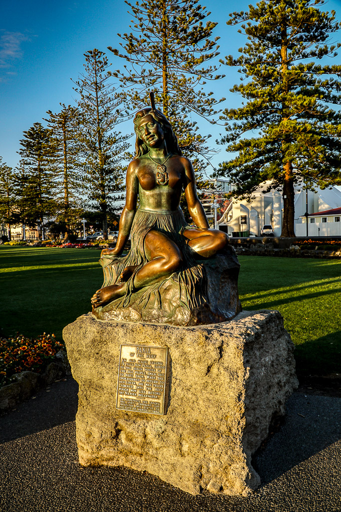 Te Pania herself - Napier New Zealand