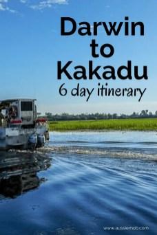 Darwin to Kakadu Itinerary
