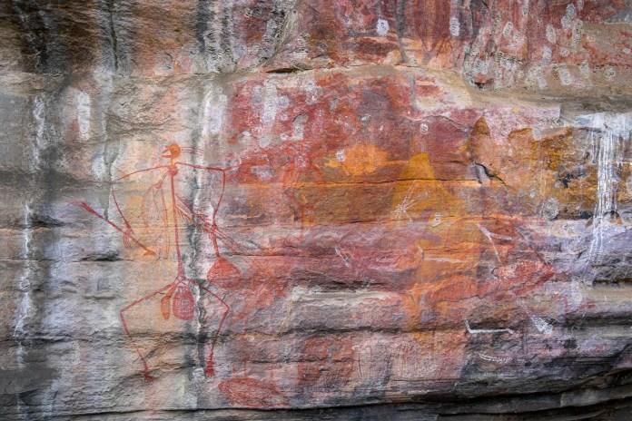 Aboriginal Art Gallery at Ubirr Rock