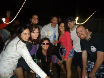 Me and a few of my newfound Chilean friends