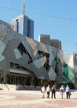 Federation Square in Melbourne
