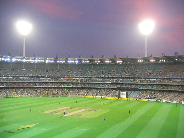 The Melbourne Cricket Ground plays host to a one dayer