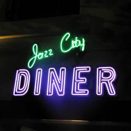 Jazz City Diner sign