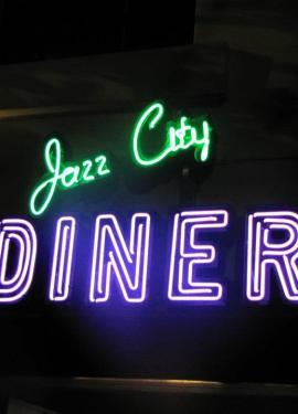Jazz City Diner sign