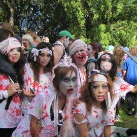 Some cute Asian nurse zombies.