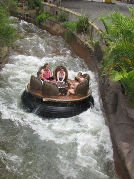 Thunder River Rapid Ride at Dreamworld