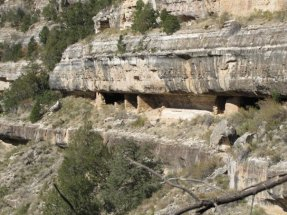 cliff dwellings walnut creek canyon