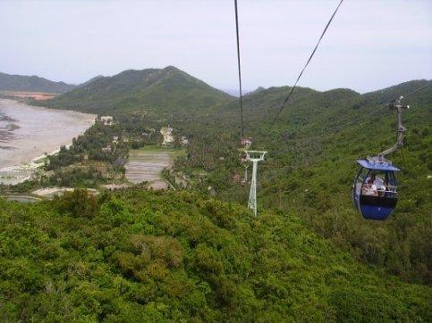 Ropeway to Monkey Island, Hainan