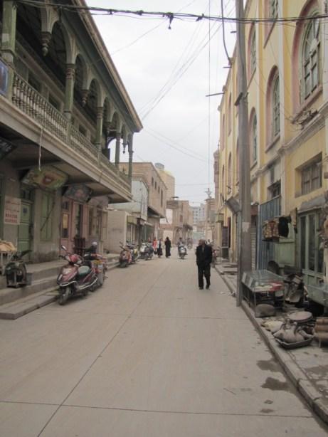 kashgar old town street