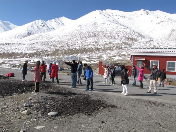 Christians at Khunjerab Pass