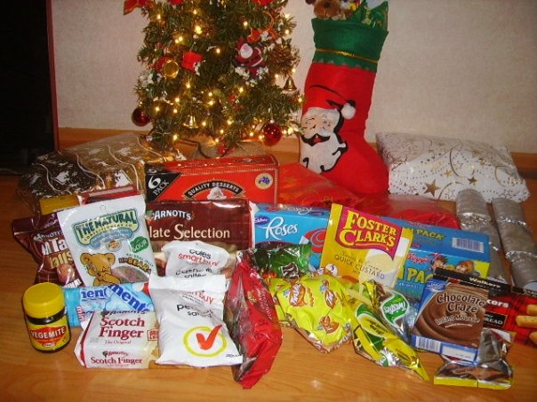 Australian Christmas care package