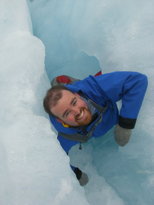 I escape from Franz Josef's icy womb