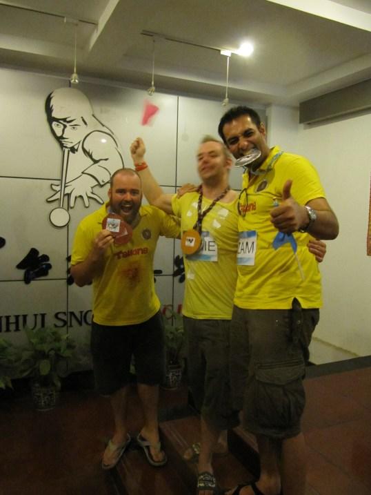 pool medalists
