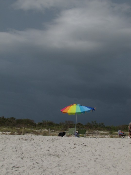 Stormy sky over Sanibel Island